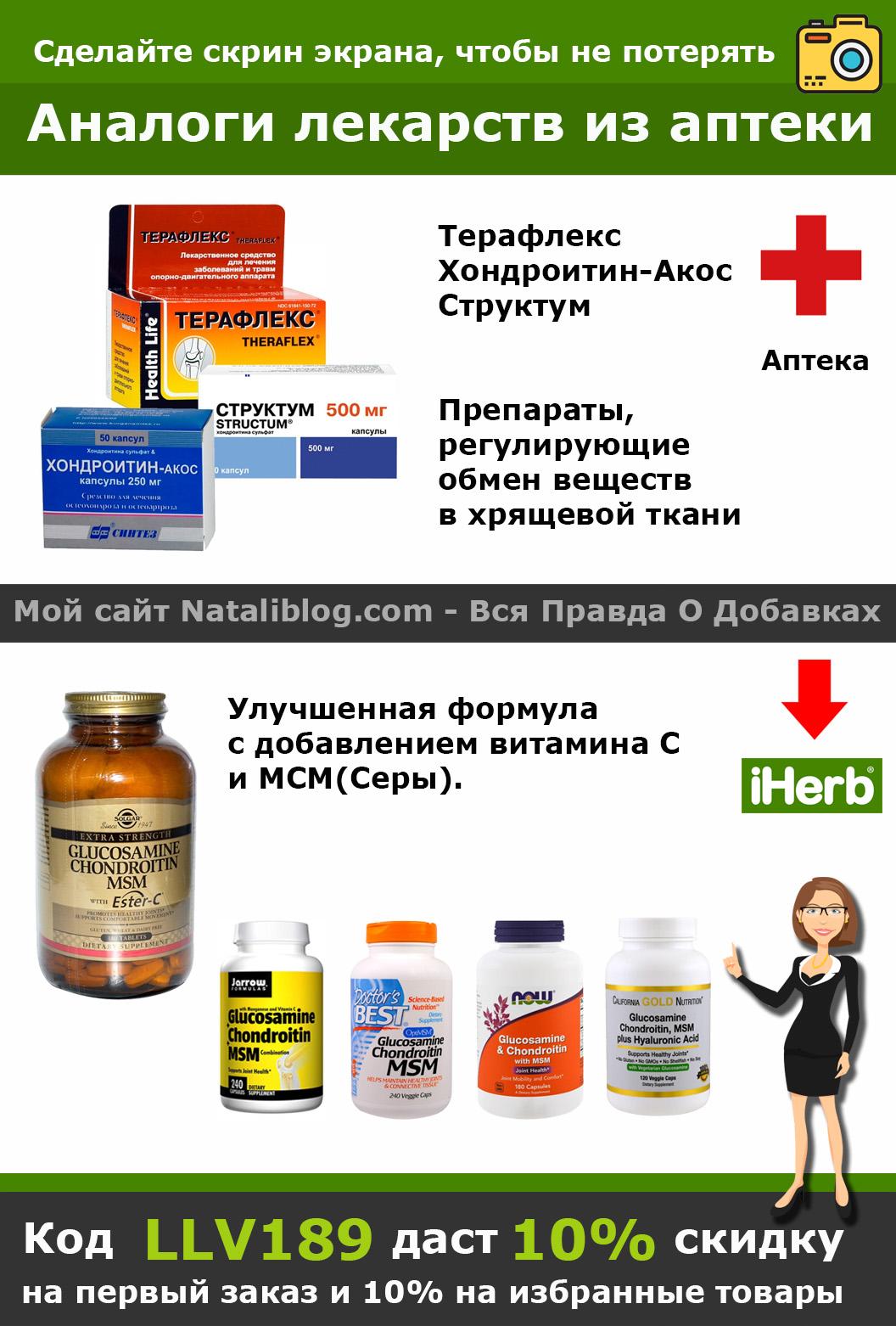 Vitrum Condroitin Glucosamina)